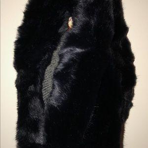 Mini Faux Fur Snood/Overhead Reversible